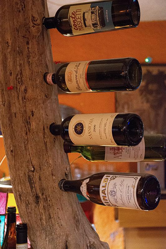 Osteria della Vigna - Il vino