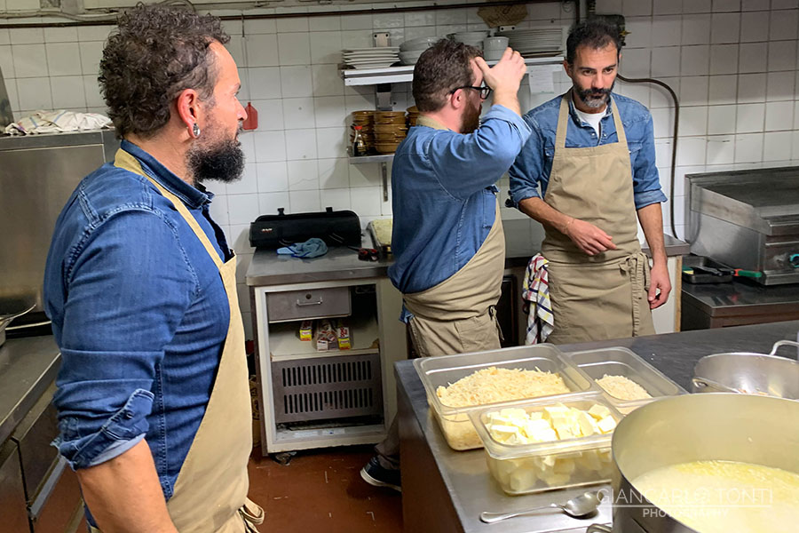 Enrico Marcantognini 29/11/2019 cena Osteria Vigna