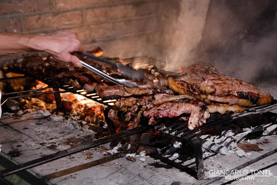 Grigliata carne - Osteria della Vigna