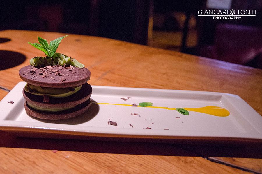 Biscotto cioccolato e te - Osteria della Vigna