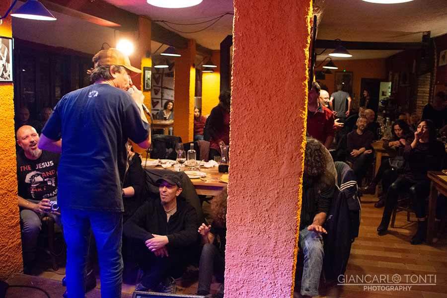 Francesco Di Bella live @ Osteria della Vigna