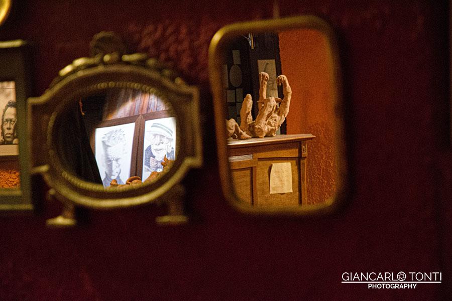Specchi e sguardi - Osteria della Vigna