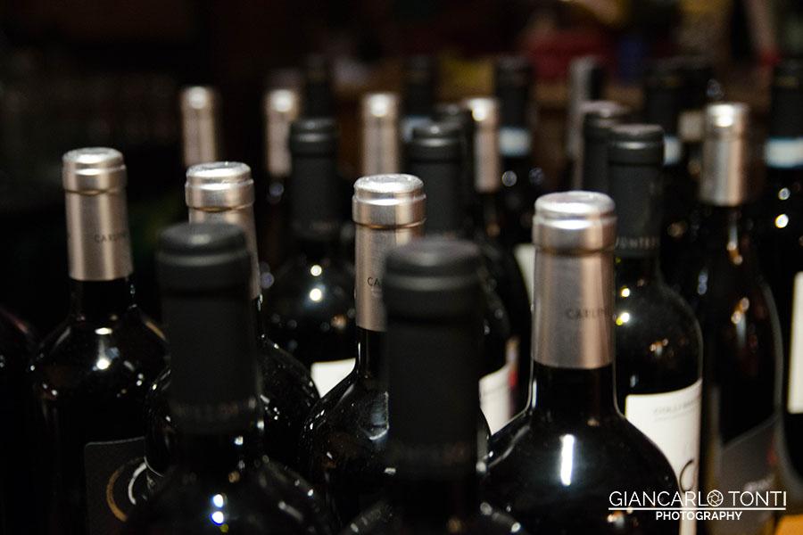 Il vino - Osteria della Vigna