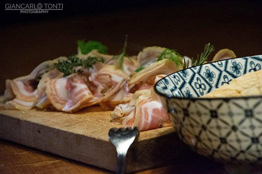 Pancetta arrotolata - Osteria della Vigna