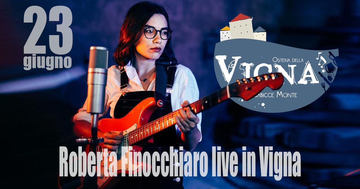 Roberta Finocchiaro live in Vigna