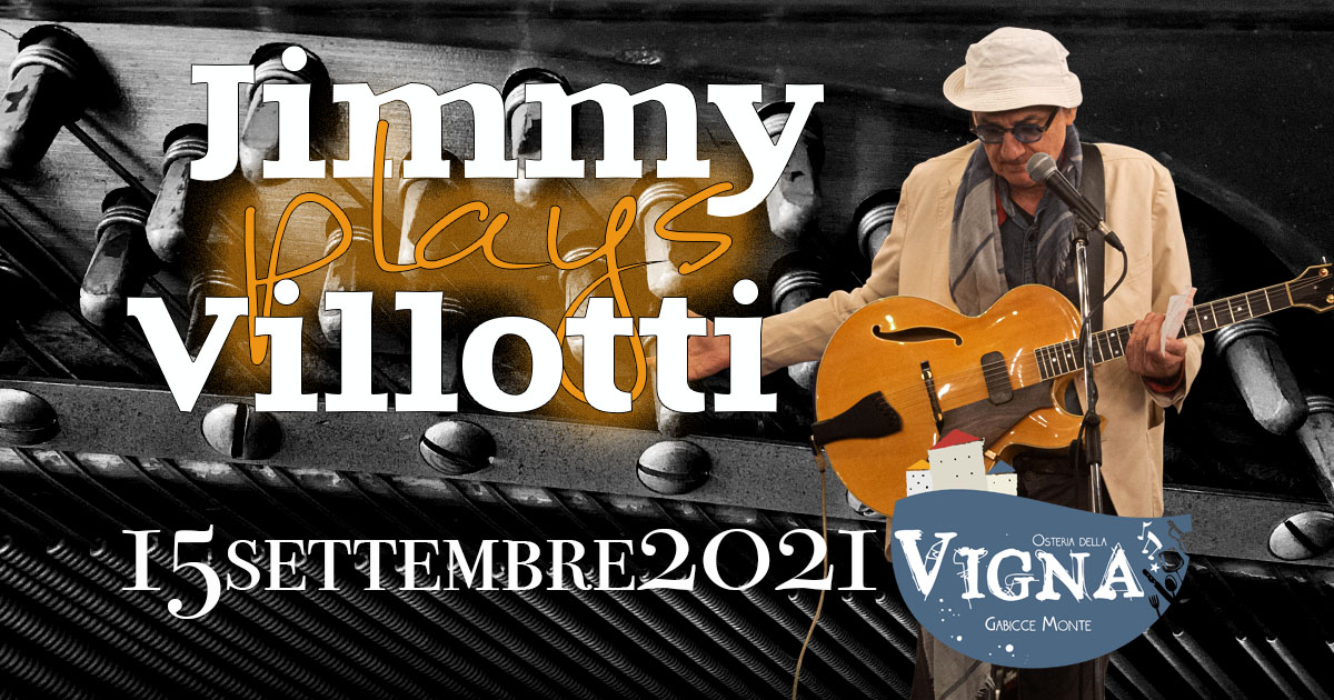 Jimmy plays Villotti - 15/09/2021